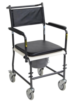 Rental store for Shower Chair Rolling Commode - Drop Arm in Orlando FL