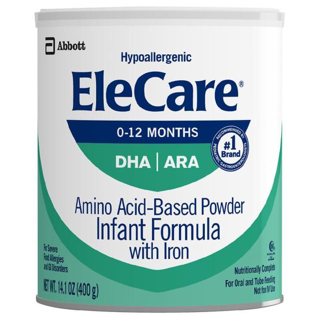 Where to find EleCare Infant w  Iron Unflavored 14.1oz in Orlando