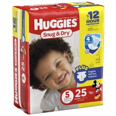 Rental store for Huggies® Snug   Dry Size 5 in Orlando FL