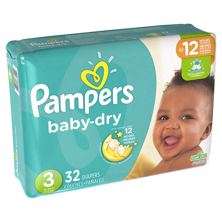 Where to find Pampers Baby Dry Size 3 in Orlando