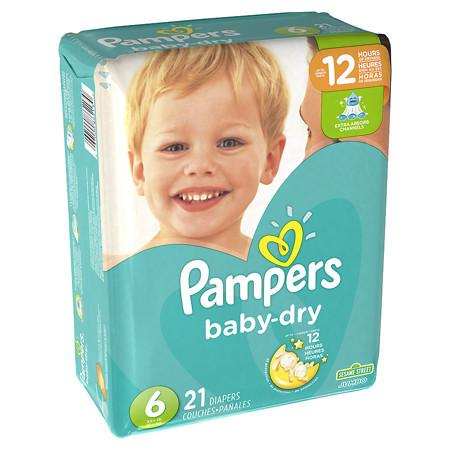 Where to find Pampers Baby Dry Size 6 in Orlando