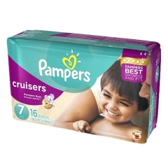 Rental store for Pampers Cruisers Size 7 in Orlando FL