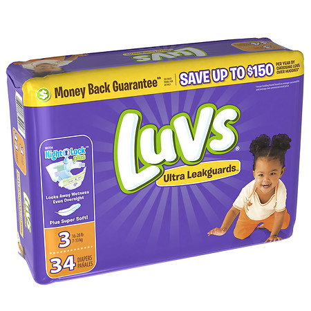 Where to find Luvs Diapers Size 3 in Orlando