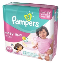Rental store for Pampers Easy Ups Girls Size 3T-4T in Orlando FL