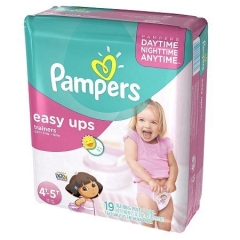 Rental store for Pampers Easy Ups Girls Size 4T-5T in Orlando FL