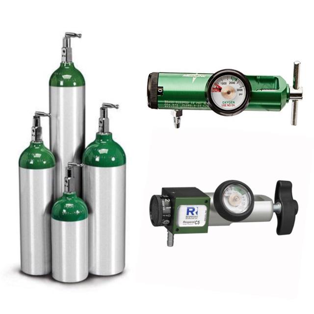 Rent Oxygen Cylinders & Regulators